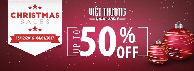 Viet Thuong Music uu dai lon dip Giang sinh va nam moi 2017 hinh anh 1