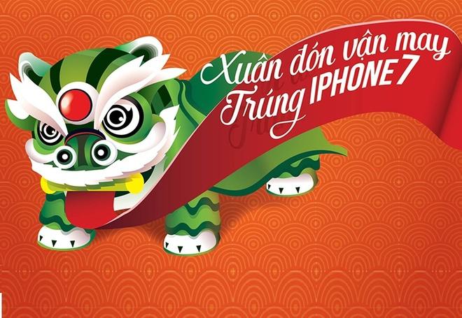 'Xuan don van may, trung iPhone 7' khi vay voi FE CREDIT hinh anh