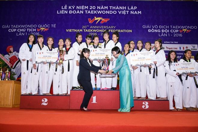 Lien doan Teakwondo Viet Nam,  Nhua Long Thanh anh 3