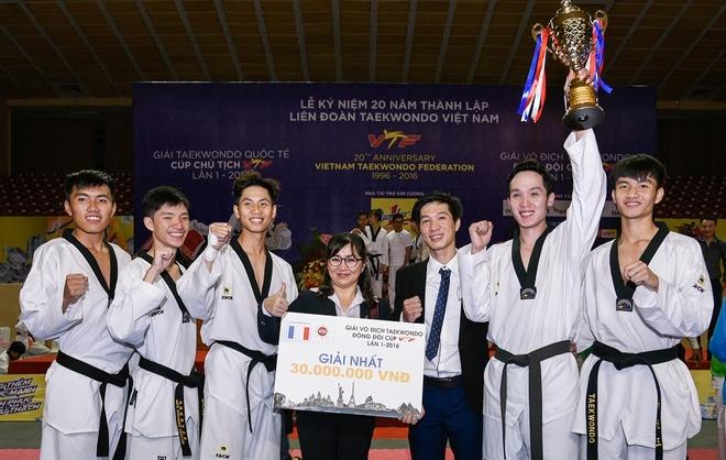 Lien doan Teakwondo Viet Nam,  Nhua Long Thanh anh 4