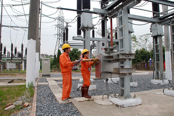 Hoan thanh duong day dien 110 kV Dong Anh - Van Tri hinh anh 1