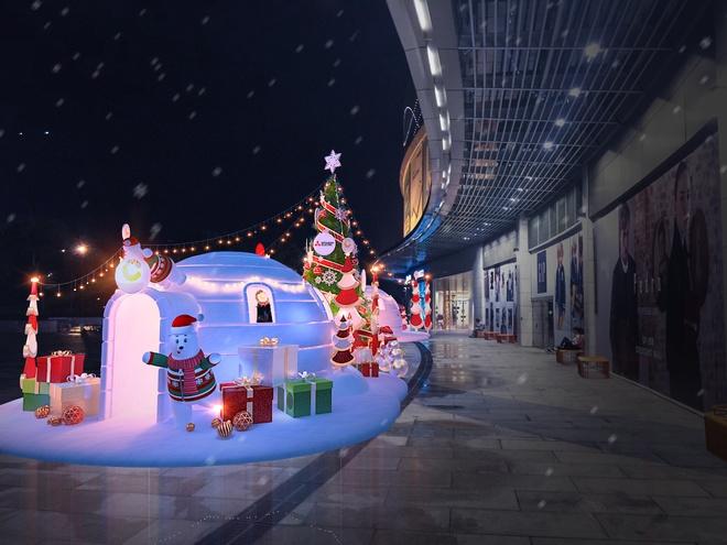 Lac vao 'Xu so mua dong dieu ky' tai Crescent Mall hinh anh 1