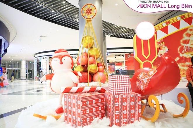 AEON Mall Long Bien hoa xu so than tien chao don Giang sinh hinh anh 5