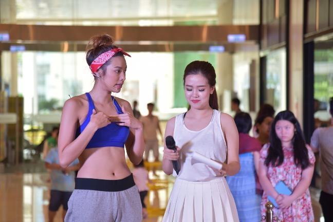 Lilly Nguyen va Kha Ngan do dang san chac hinh anh 3