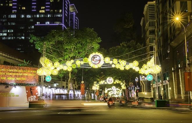 Sai Gon lung linh chao xuan Dinh Dau 2017 hinh anh 8