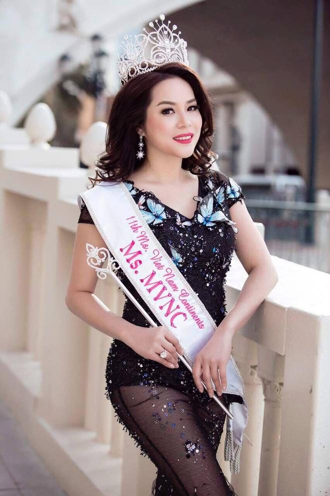 Jasmine Le dang quang Hoa hau Phu nu Nguoi Viet The gioi hinh anh 4