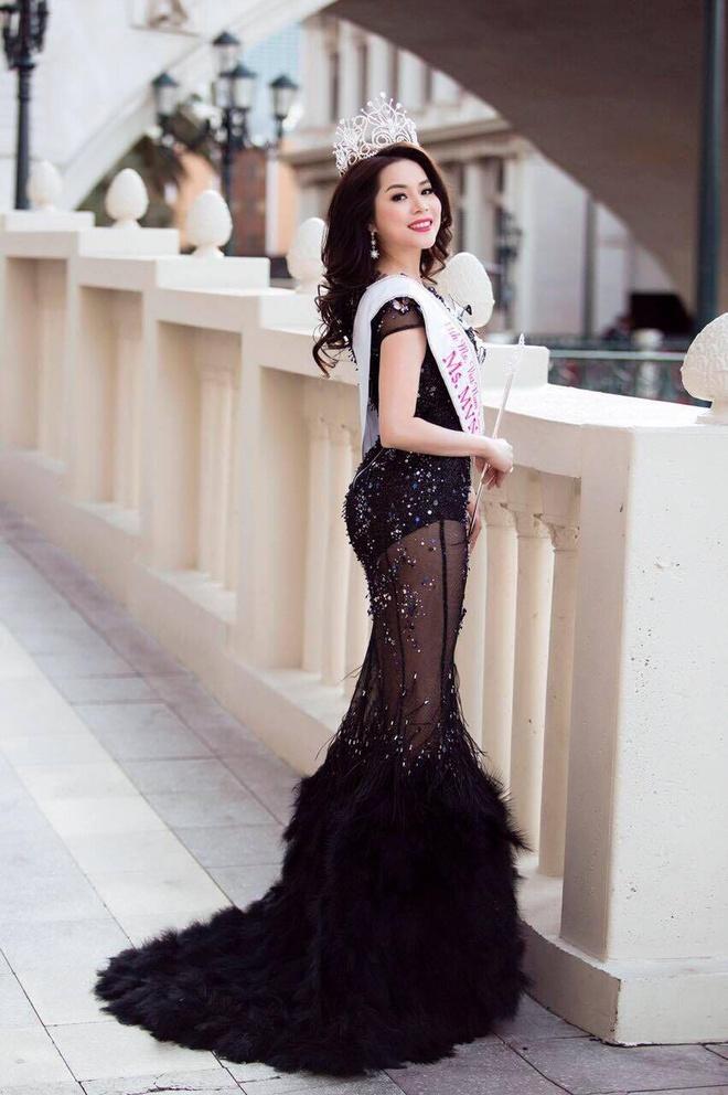 Jasmine Le dang quang Hoa hau Phu nu Nguoi Viet The gioi hinh anh 6
