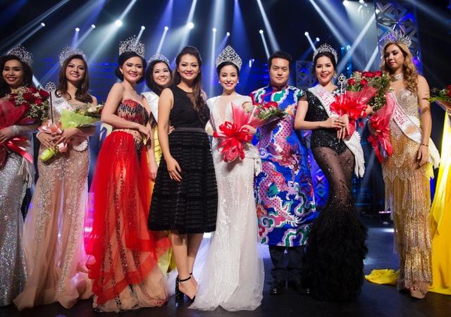Jasmine Le dang quang Hoa hau Phu nu Nguoi Viet The gioi hinh anh 7