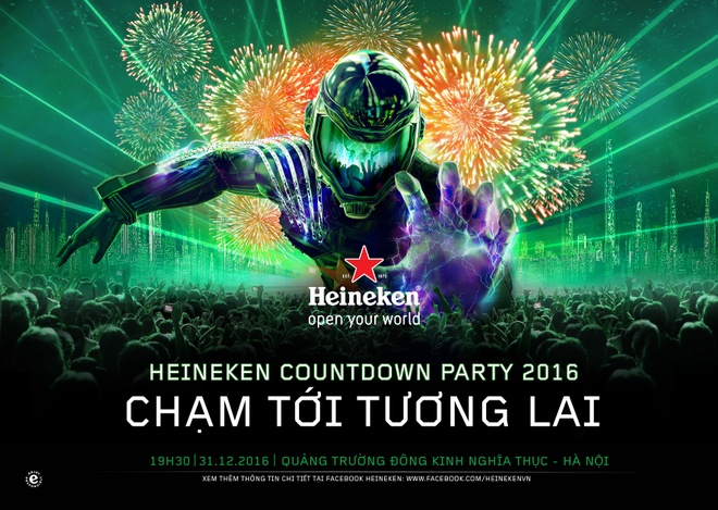 Cham toi tuong lai cung Heineken Countdown Party 2016 hinh anh