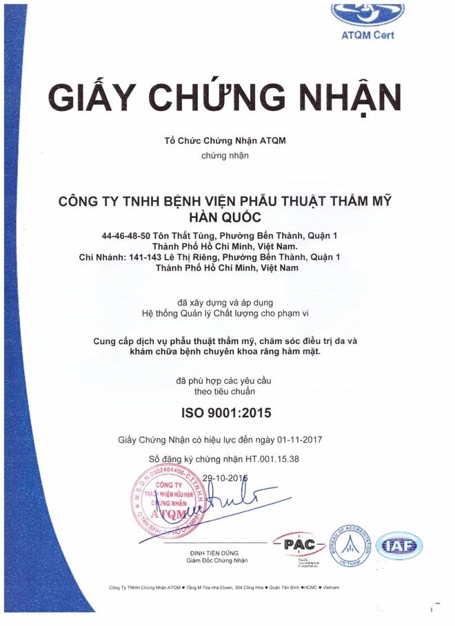 Benh vien tham my JW Han Quoc chi nhanh Viet Nam anh 2