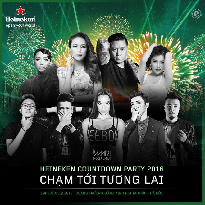 Heineken Countdown Party,  Cham den tuong lai anh 1