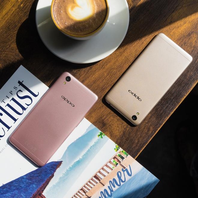 Nhung smartphone Oppo chuyen selfie hinh anh 5