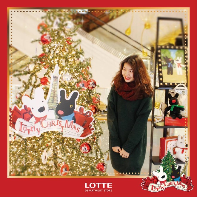 Lotte Department Store,  Giang sinh anh 1