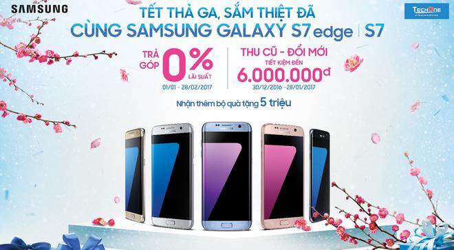 He thong sieu thi dien thoai TechOne,  Galaxy S7, anh 1