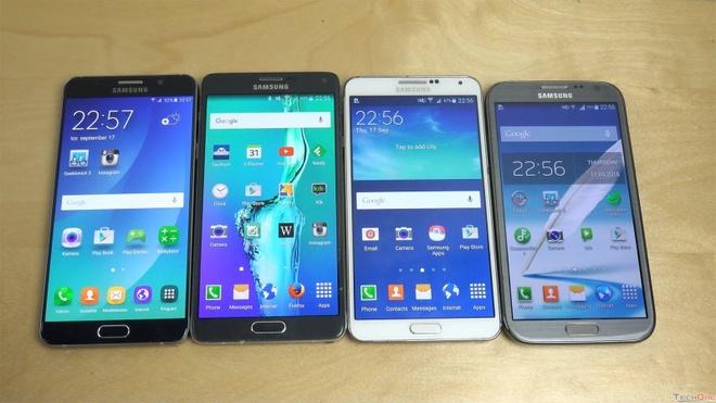He thong sieu thi dien thoai TechOne,  Galaxy S7, anh 2