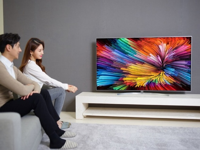 LG gioi thieu loat TV Super UHD anh 1
