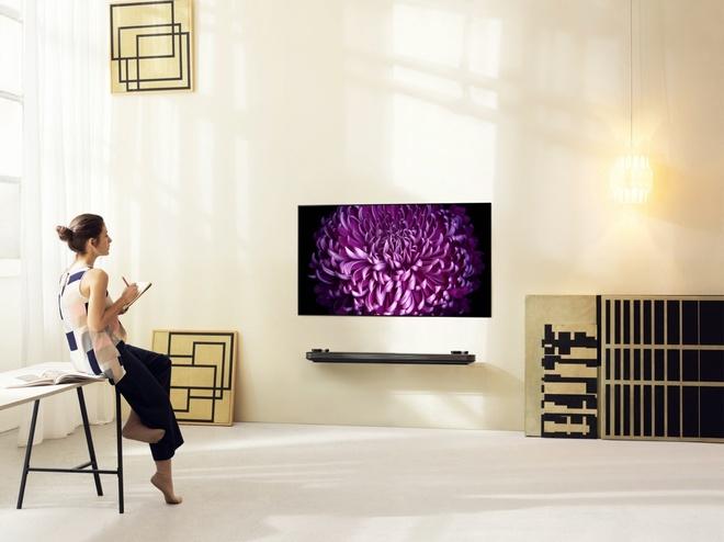 LG tung dong Signature OLED TV tai CES 2017 hinh anh