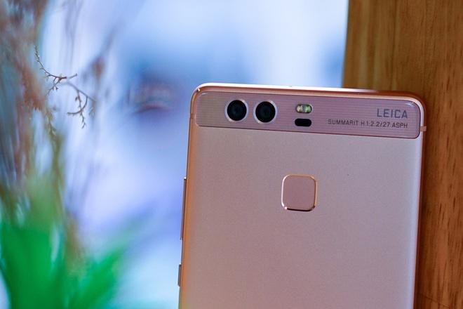 Huawei P9 vang hong: Su ket hop giua thoi trang va cong nghe hinh anh 3