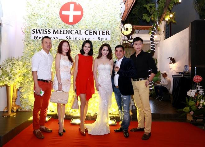 Mai Thu Huyen quyen ru du khai truong Swiss Medical Center hinh anh 5