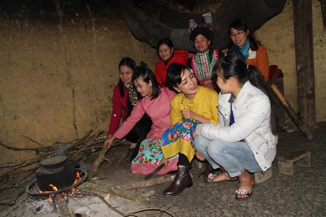 me con nghe si Chieu Xuan don Tet som o Ha Giang anh 4