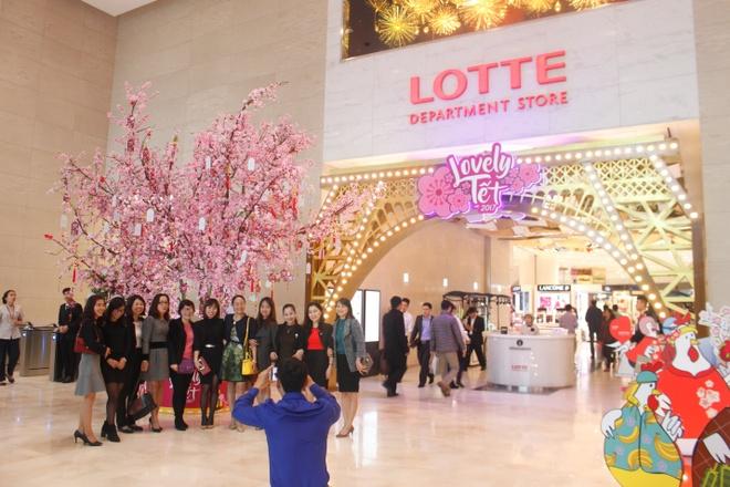 3 diem hut khach cua Lotte Department Store dip Tet am lich hinh anh 4