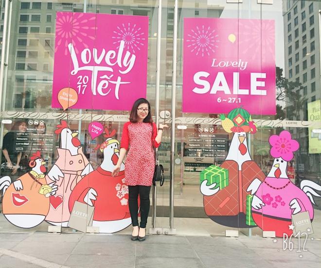 3 diem hut khach cua Lotte Department Store dip Tet am lich hinh anh 2
