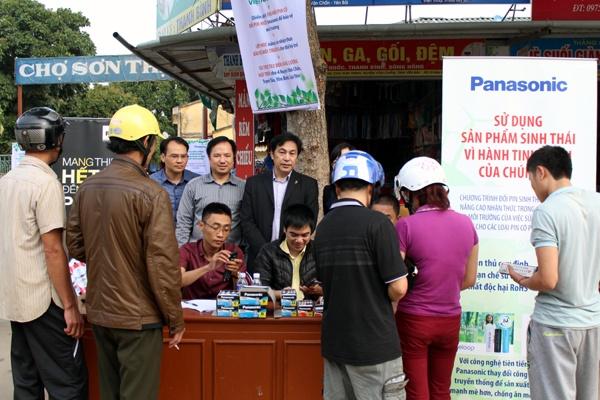 Panasonic Viet Nam thu doi 12.500 pin sinh thai nam 2016 hinh anh 4
