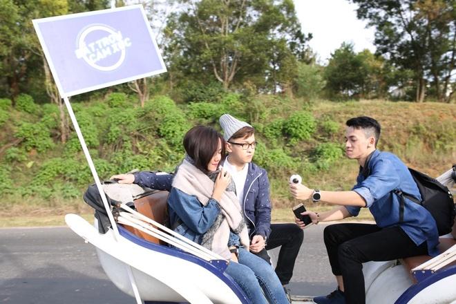 Cung Phuong Ly, Be Tran, Pham Hong Phuoc check-in Da Lat hinh anh 3