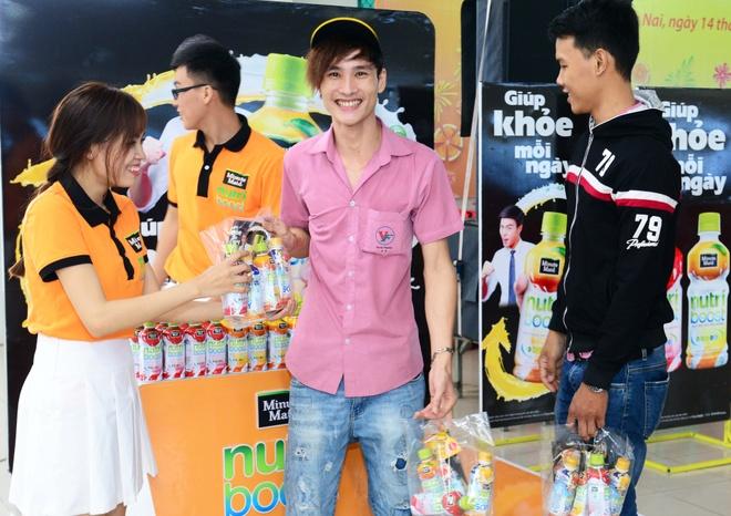Nutriboost mang 'Xuan vui khoe' den nguoi dan Dong Nai hinh anh 1