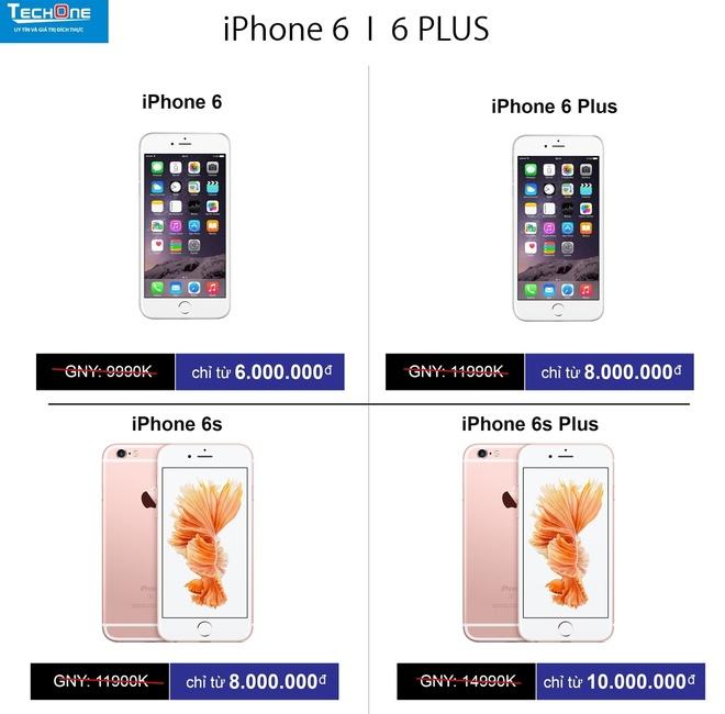 Giap Tet, nguoi dung dua nhau sam iPhone 6, 6S hinh anh 2