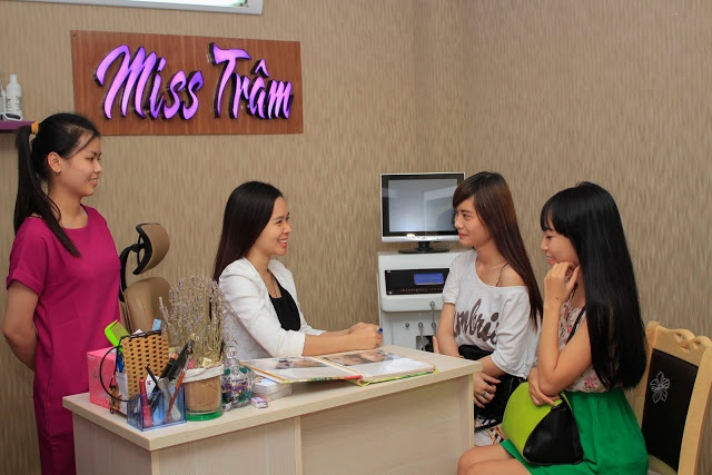 Miss Tram spa anh 1