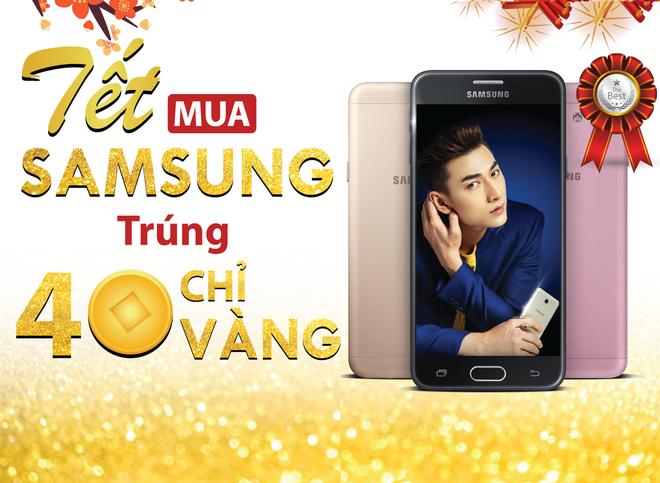 Mua smartphone Samsung trung 40 chi vang tai Hoang Ha Mobile hinh anh