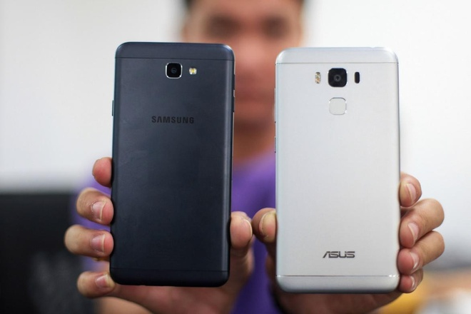 Samsung Galaxy J7 Prime,  Asus Zenfone 3 Max anh 2