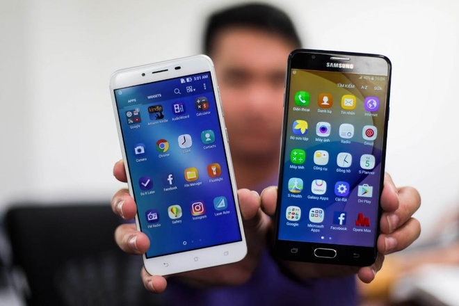 Samsung Galaxy J7 Prime,  Asus Zenfone 3 Max anh 3
