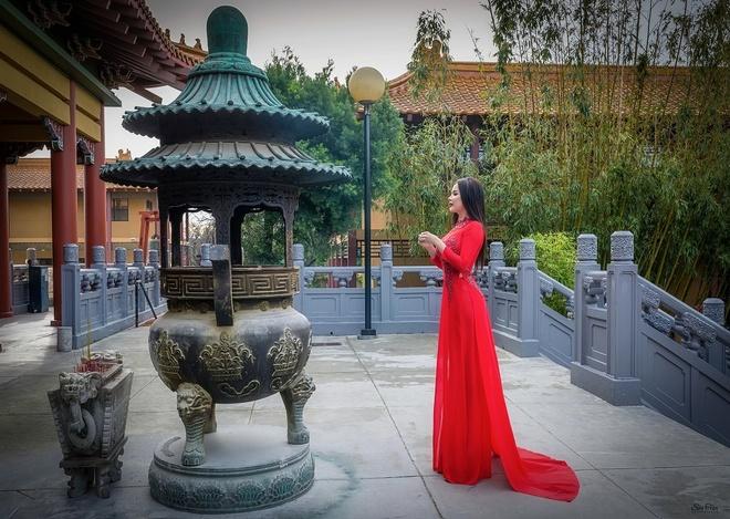 Jasmine Le,   Hoa hau Nguoi Viet The gioi 2017 anh 2