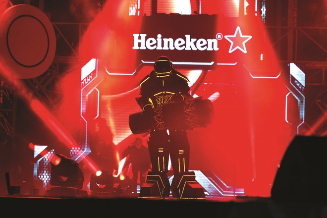Heineken,  Heineken Green Room - Cham vao am nhac anh 3