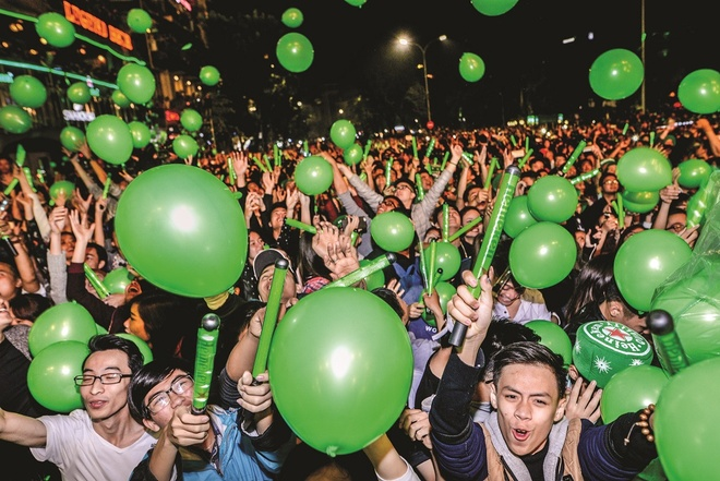 Heineken,  Heineken Green Room - Cham vao am nhac anh 9