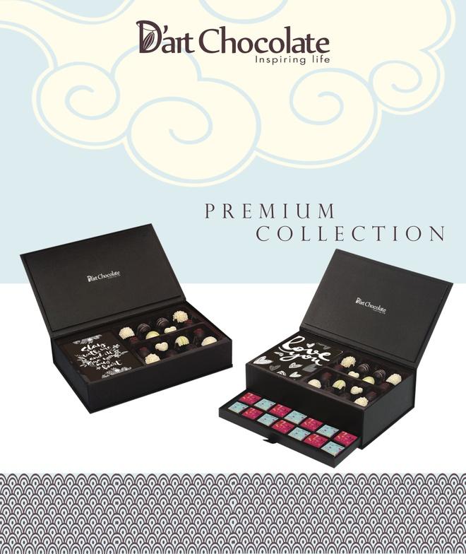 Chocolate Valentine 2017 day bat mat tu D'art Chocolate hinh anh 1