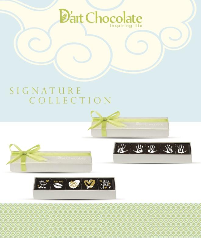 Chocolate Valentine 2017 day bat mat tu D'art Chocolate hinh anh 3