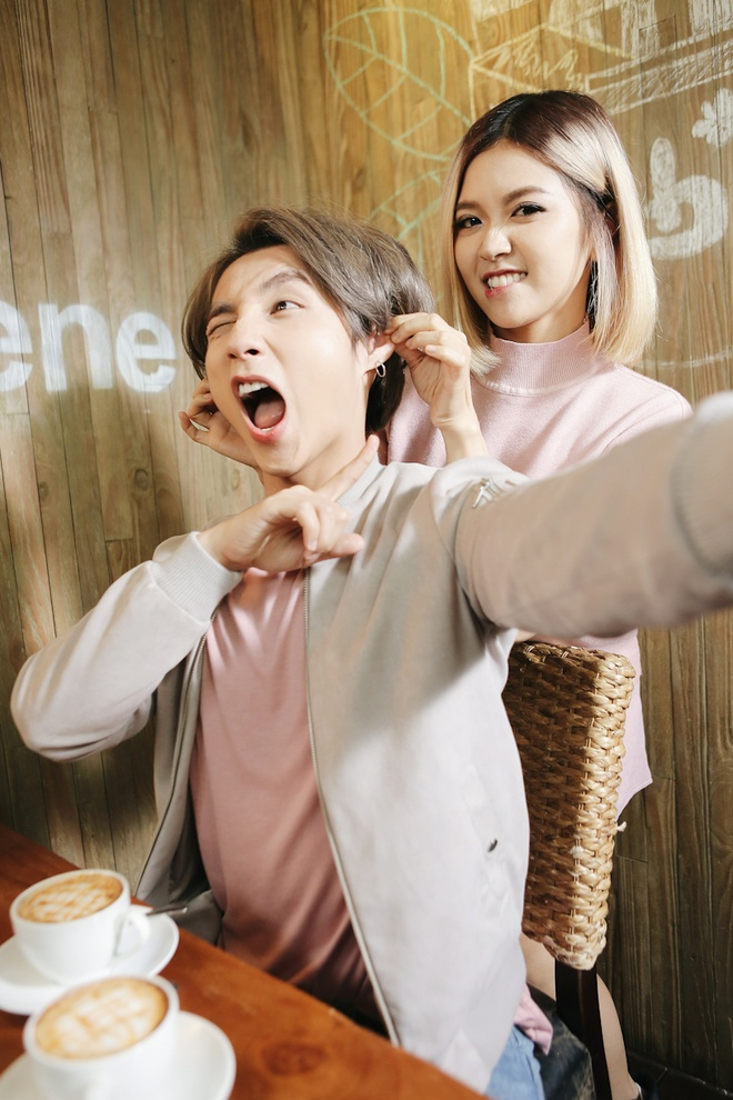 Son Tung M-TP nhi nho selfie cung Suni Ha Linh hinh anh 5