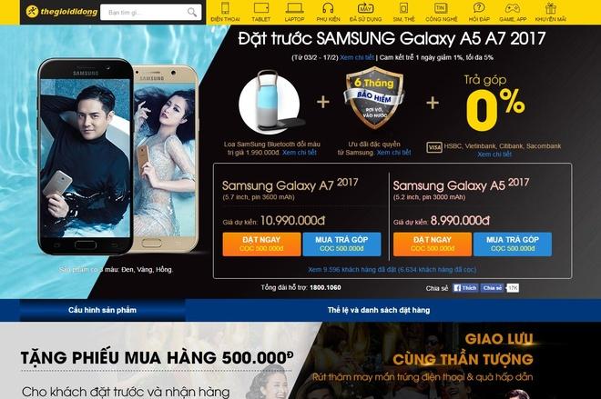 Chinh thuc mo ban bo doi Galaxy A5 va A7 vao ngay 18/2 hinh anh 2