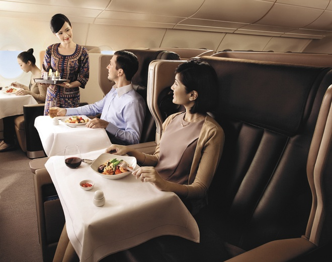 3 uu dai hap dan cua the len may bay Singapore Airlines hinh anh