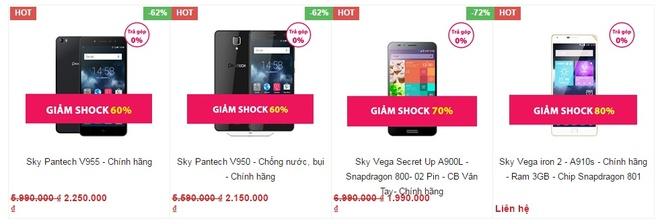 Smartphone Han Quoc Sky Vega Secret Up giam con 1,99 trieu dong hinh anh 4