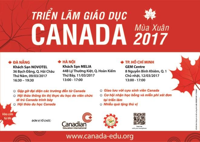 Trien lam giao duc Canada mua xuan 2017 hinh anh 5