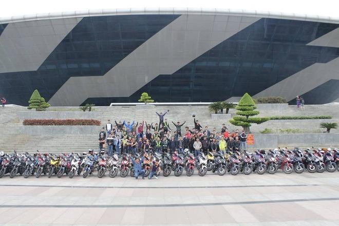 1.000 biker va 300 mau do WINNER hoi tu hinh anh 5