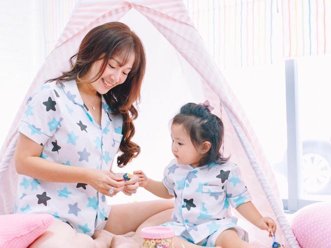 Trang phuc ngu dang yeu cho me va be hinh anh 4