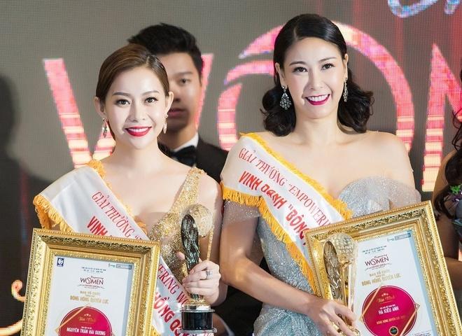 Hoa hau Hai Duong duoc vinh danh tai 'Empowering Women Award 2017' hinh anh
