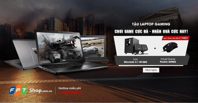 Mua laptop gaming nhan combo loa va chuot game tai FPT Shop hinh anh 1