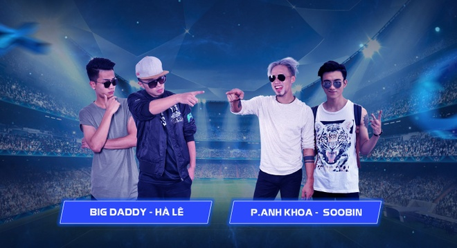 Soobin Hoang Son, Pham Anh Khoa doi dau Ha Le, BigDaddy tren san khau hinh anh 2
