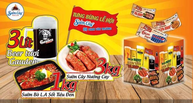 Thuong thuc buffet bia tuoi 99.000 dong tai Suon Cay Phan Van Truong hinh anh 4
